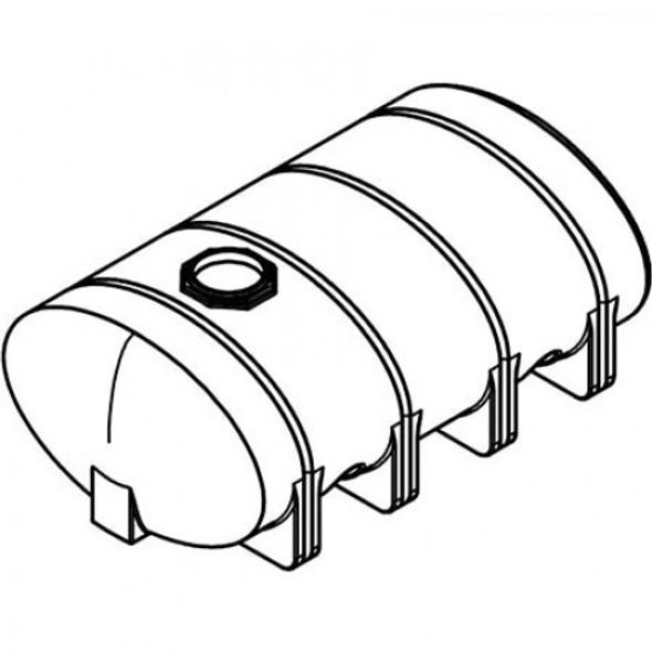 2035 Gallon Elliptical Leg Tank | 40618