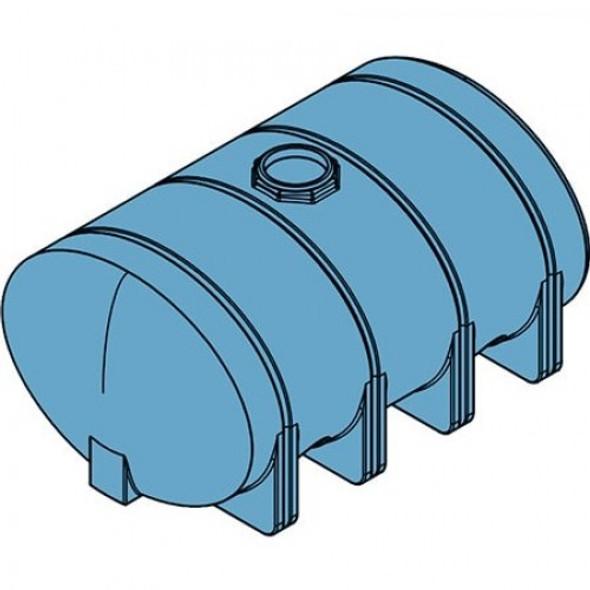 2635 Gallon Heavy Duty Elliptical Leg Tank | 40283