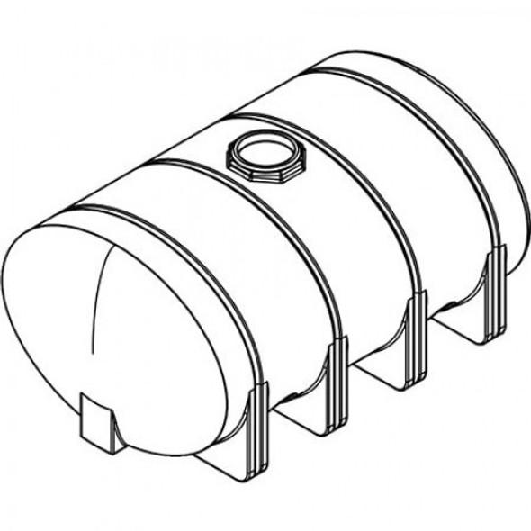 2635 Gallon Elliptical Leg Tank | 40547