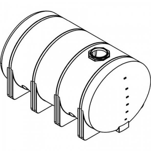 3135 Gallon Elliptical Leg Tank | 40686