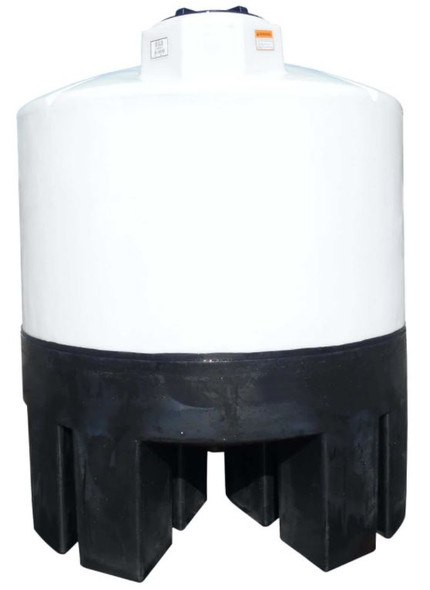 1050 Gallon Cone Bottom Tank with Poly Stand | 40359