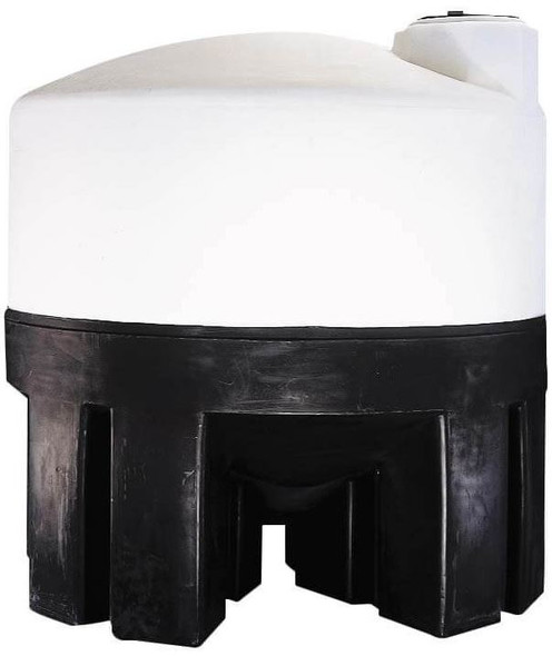 1600 Gallon Cone Bottom Tank with Poly Stand | 40813
