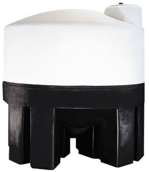 2500 Gallon Cone Bottom Tank with Poly Stand | 40672
