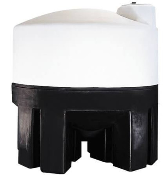3000 Gallon Cone Bottom Tank with Poly Stand | 40797