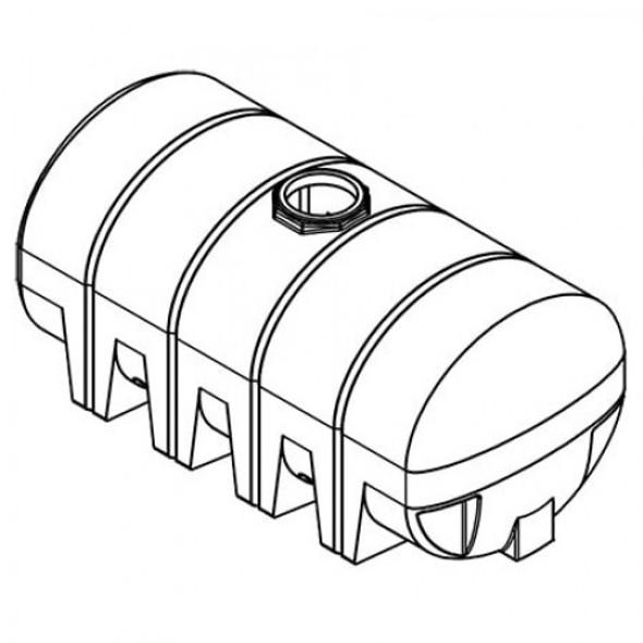 2010 Gallon Drainable Leg Tank  | 43651