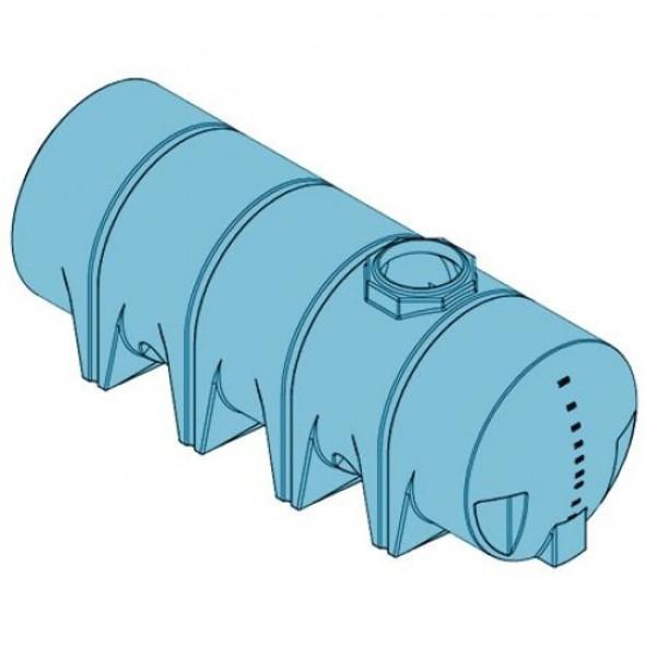 1010 Gallon Heavy Duty Drainable Leg Tank | 40395