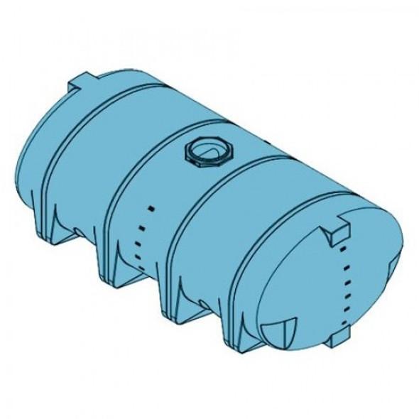 3210 Gallon Heavy Duty Drainable Leg Tank   | 40824