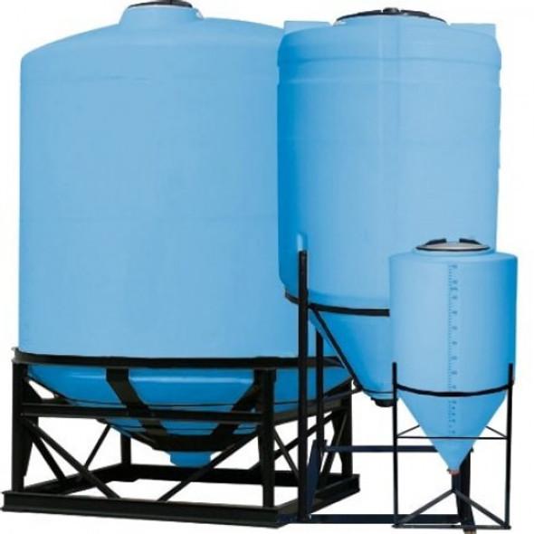 2500 Gallon Heavy Duty Cone Bottom Tank | 40129