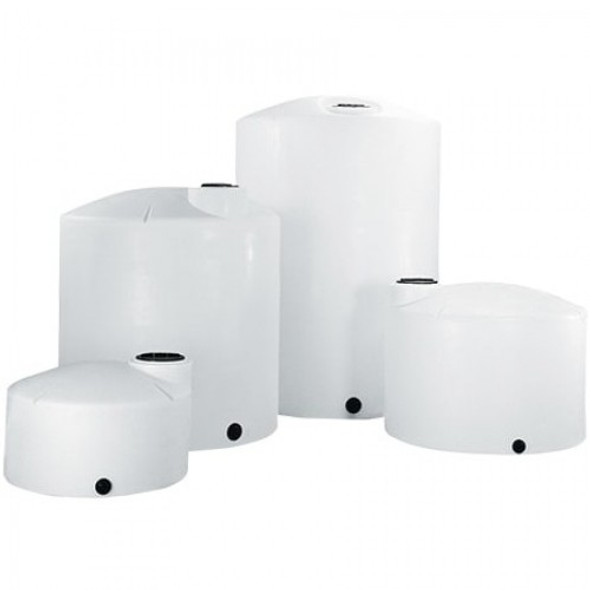 550 Gallon Vertical Plastic Storage Tank | 1800000C45
