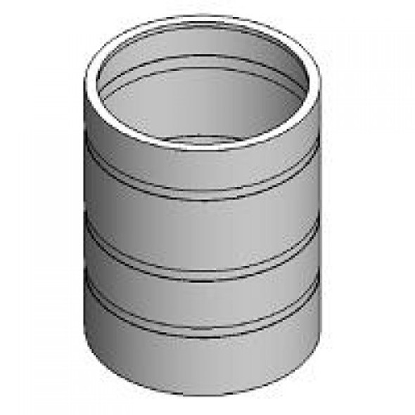 2500 Gallon Cylindrical Open Top Tank | 5940000N-43