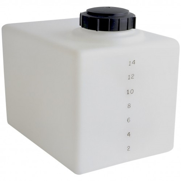 16 Gallon Flat Bottom Utility Tank | 44853
