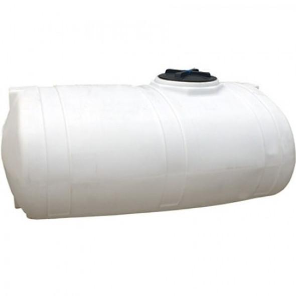 500 Gallon White Elliptical Tank | 40328