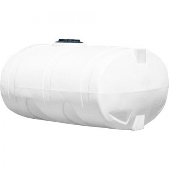 1600 Gallon White Elliptical Tank | 47972