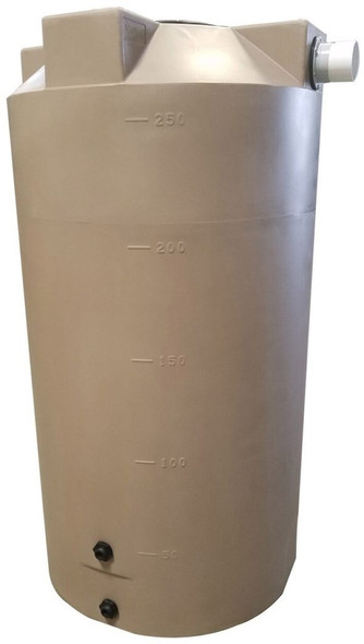 250 Gallon Rainwater Collection Tank
