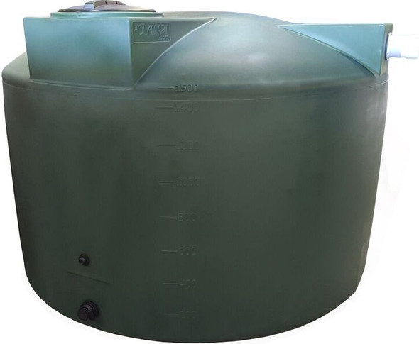 1500 Gallon Rainwater Collection Tank