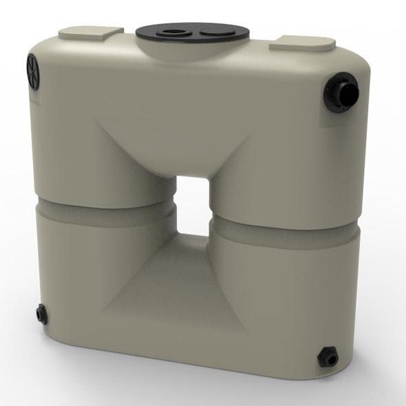 130 Gallon Slimline Water Storage Tank