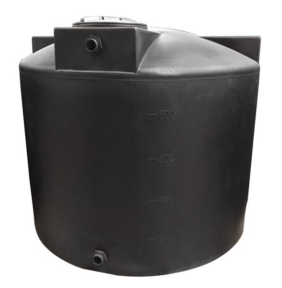1000 Gallon Vertical Water Storage Tank