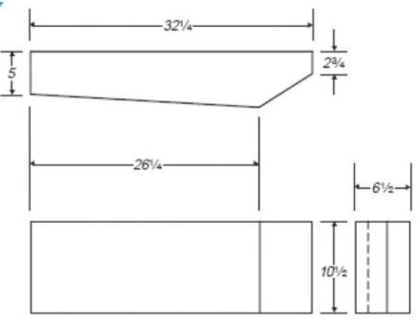 8 Gallon RV Water Tank | RVWB121