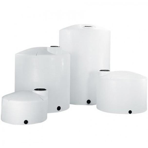 250 Gallon Vertical Plastic Storage Tank   1008100C26