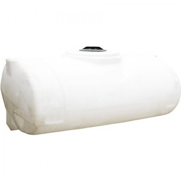300 Gallon White Elliptical Tank   40327