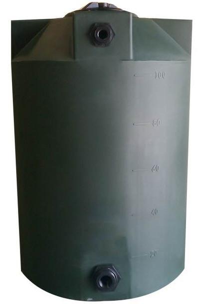 100 Gallon Vertical Water Storage Tank