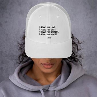 I Stand Trucker Cap.