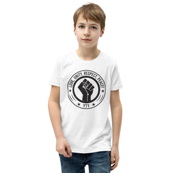 BL-Love, Unity, Respect, Peace Youth Tee