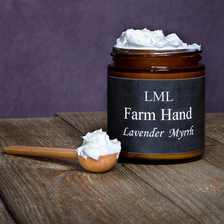 Goat Milk Lavender and Myrrh Farm Hands anti-inflamatory