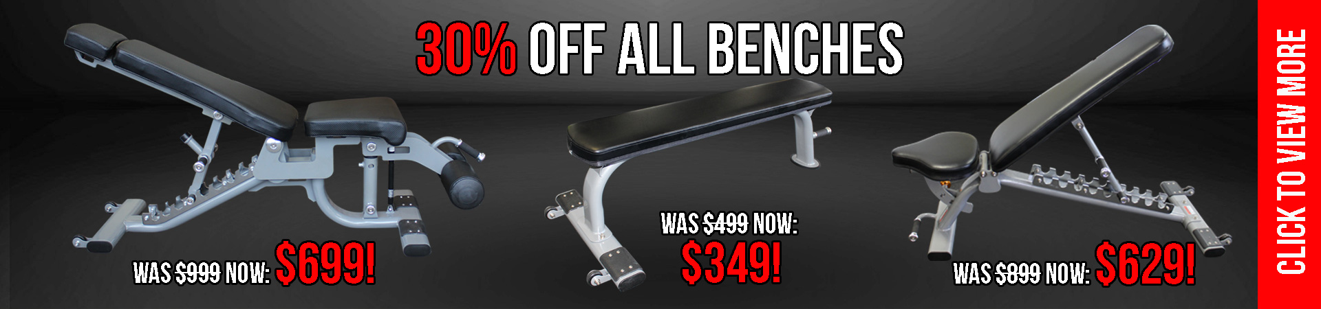 30% of All MA1 Benches