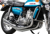 Full Chrome Expansion Chamber Exhaust System to fit GT750 (1972-1973)