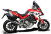 "De-Cat SL10 14"" Stainless Steel Round Muffler to fit Multistrada 1200S (2015-2017) & 1260S (2018-2020)"