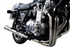 Full System to fit KZ1300 (1979-1982) with Classic Megaphone Muffler and Stainless Steel 6-2 Headers