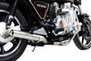 Full System to fit KZ1300 (1979-1982) with Classic Straight Muffler and Stainless Steel 6-2 Headers