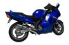 """Full System to fit CBR1100XX Blackbird (1996-2009) with Mini 8"""" Stainless Steel Round Muffler and Stainless Steel Headers"""