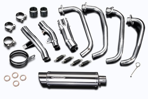 """Honda CB1100A 2013-2014 Details about  /Delkevic Mini 8/"""" Stainless Steel Round Muffler Slip On"""