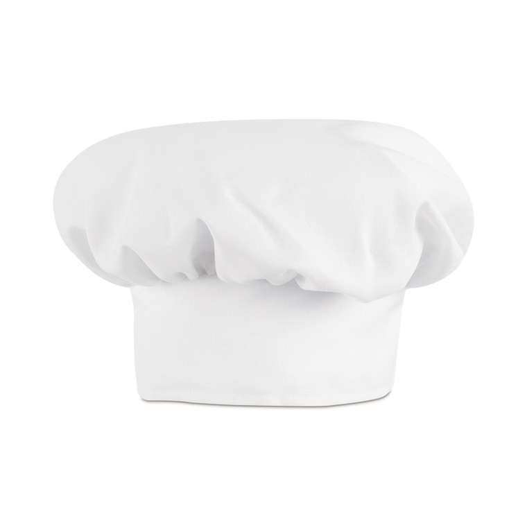 Chef Hat, White (6 Pack)