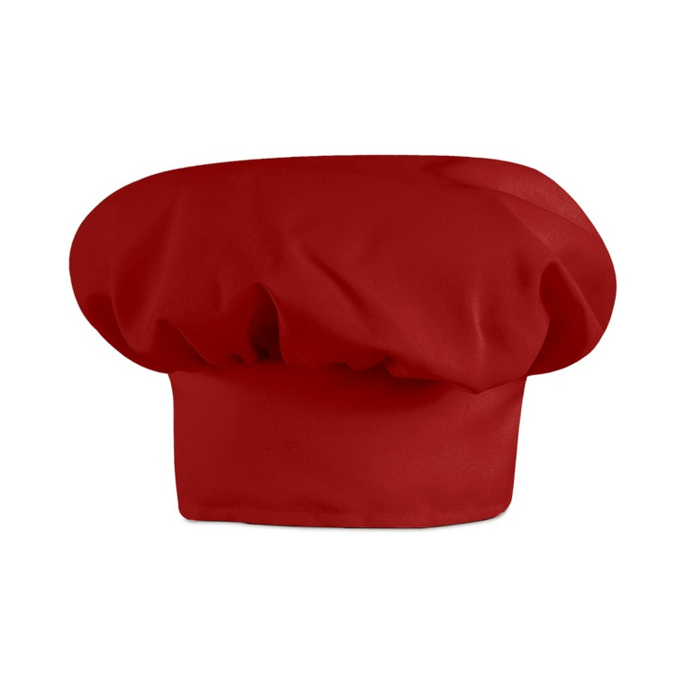 Chef Hat, Red (6 Pack)