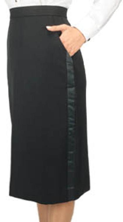 Henry Segal Below-the-Knee Tuxedo Skirt (size 2-28)