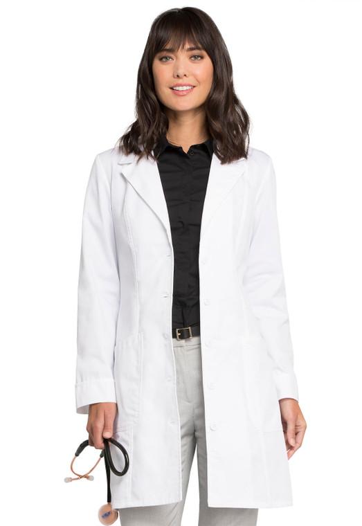 """36"""" Cherokee Women's Angled Pocket Lab Coat 2410"""