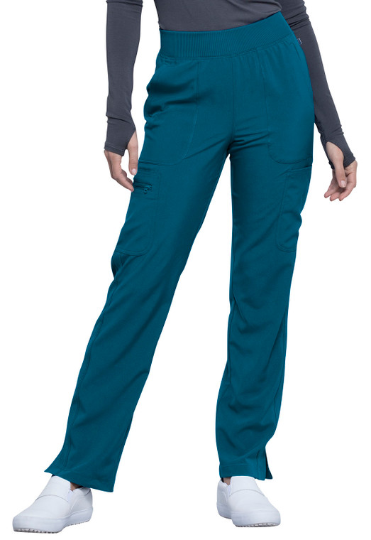 Cherokee Infinity Women's Mid Rise Tapered Leg Pant CK065A