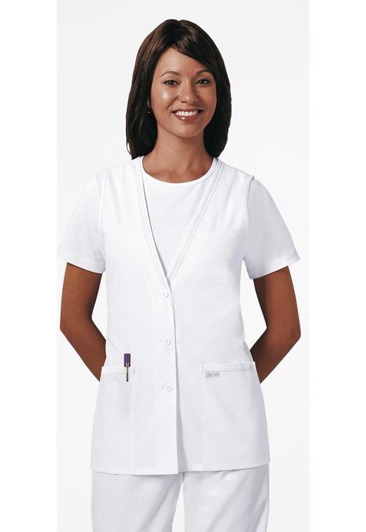 "28"" Cherokee Women's Lace Trimmed Vest 2610"
