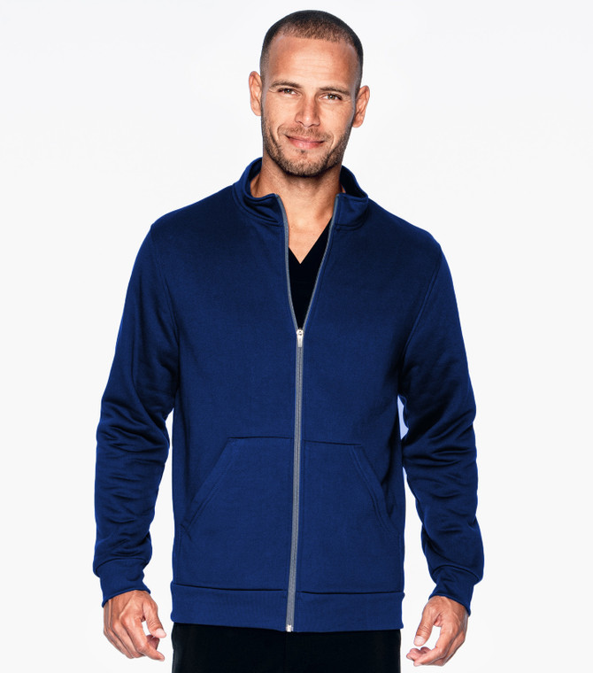 Urbane Performance Men's Zipper Front Scrub Jacket 9972