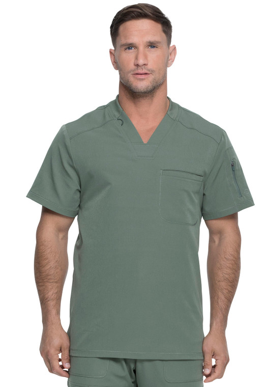 Dickies Dynamix Men's Zip Sleeve Pocket Top DK610