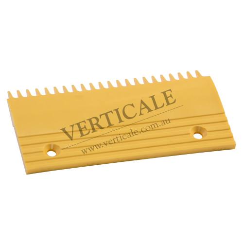 Otis Plastic Right Comb Plate - 204x106, 22 Teeth