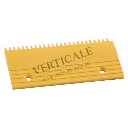 Otis Plastic Left Comb Plate - 214x108, 25 Teeth