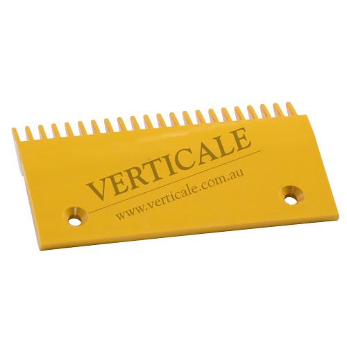 Schindler Plastic Comb Plate (Left) 198x108mm 22 Teeth