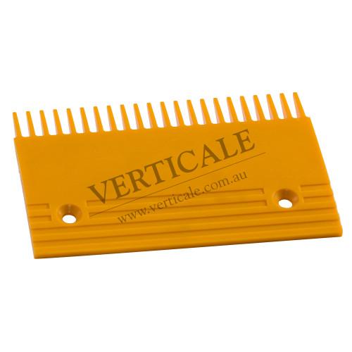 Kone Plastic Comb Plate (Center) 197x132 22 Teeth