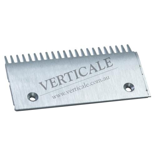 Schindler Aluminium Comb Plate 203 x 108mm 22 Teeth