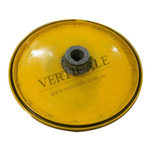Motor Flywheel (PG420 motor) - Dia-400mm