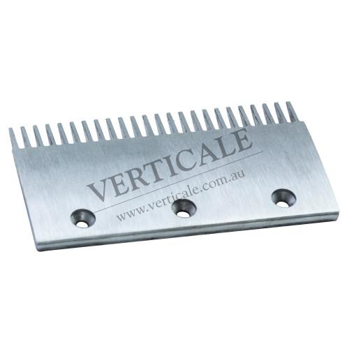 thyssenkrupp Escalator comb plate (Left/Right/Center) - 204 x 116mm 24 Teeth